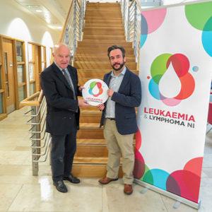 Leukaemia & Lymphoma NI award £50,000 Grant to Prof David Gonzalez De Castro
