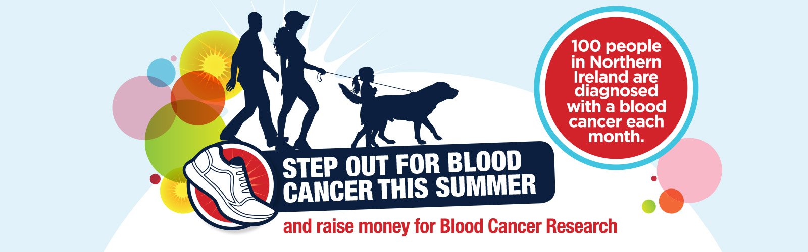 Step out for blood cancer